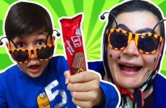 Şaduman Abla Komik Gözlük Almış Ama Göremiyor. Eğlenceli Çocuk Videosu