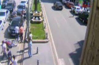 Şanlıurfa'da trafik kazaları MOBESE'de