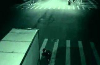 Çin'de yaşanan trafik kazası Işınlanma Esrarengiz olay