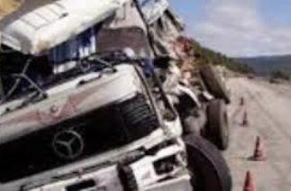 Ölümcül tır trafik kazaları ağır bilanço