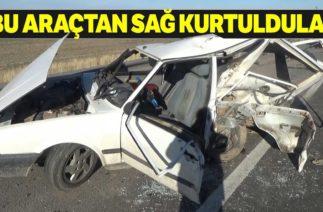 Aksaray'dan Trafik Kazası, 5 Yaralı