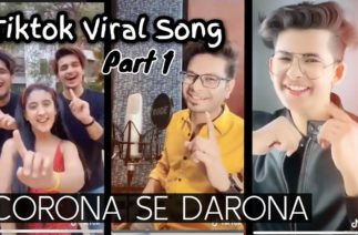 """Corona Se Darona""   New Viral Song   TikTok 2020   Vicky D Parekh   Famous TikTokers"