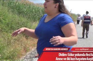 Didim'de trafik kazası 3 kişi hayatını kaybetti