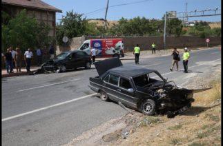 Elazığ-Pertek yolunda trafik kazası! Yaralılar var