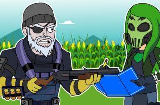 Fortnite Trios: Frenzy Farm & Toxin | Funny Fortnite Animation