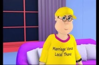 Happy Sheru || Happy & Billo Da Marriage Venue Thana || Funny Cartoon Animation