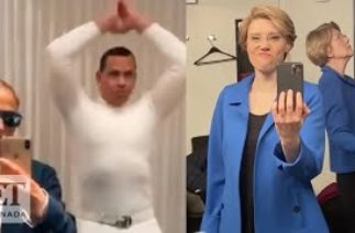 Jennifer Lopez, A-Rod And More Stars Nail Viral 'Flip The Switch' Challenge