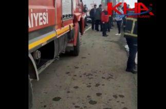 Kars'ta trafik kazası; 5 yaralı