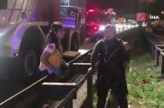 Kocaeli'de trafik kazası: 3 ölü, 3 yaralı