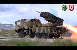 MKE'nin silahları Fırtına Obüsü (T-155) ve ÇNRA (T-122)