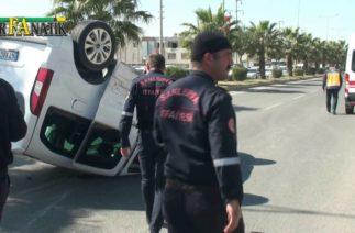 Mardin yolunda trafik kazası