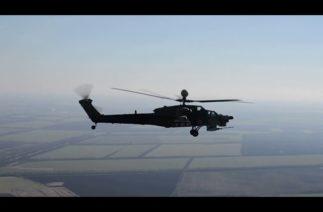 Mil Mi-28UB'nin ilk test uçuşu
