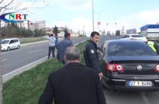 Nizip'te trafik kazası bir yaralı