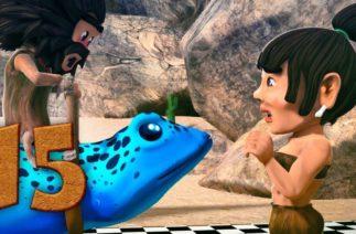 Oko ve Lele – Yarış Arabası – Komik çizgi filmler