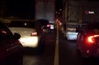 Ordu'da Zincirleme Trafik Kazası, 11 Araç Bir Birine Girdi; 3 Yaralı