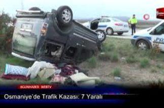 Osmaniye'De Trafik Kazası 7 Yaralı 16 Kasım 2019 8Gunhaber 1