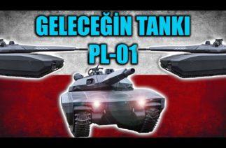 POLONYA YAPIMI GELECEĞİN TANK KONSEPTİ PL-01 TEKNİK ÖZELLİKLERİ