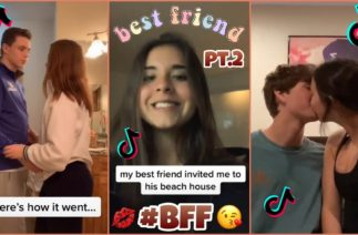 People Trying To Kiss Their Best Friends ~ TikTok Compilation Pt.2
