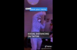 Social distancing on TikTok