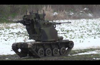 Sırp ordusu, savaş robotunu test etti