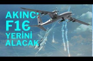 TÜRK SAVUNMA SANAYİSİNDEN/AKINCI TİHA/SİHA KORUNMA ÖZELLİKLERİYLE F16 İLE YARIŞIYOR/AESE VE FLARE/