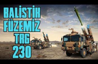TÜRKİYE'NİN BALİSTİK FÜZE ÜYESİ ROKETSAN ÜRETİMİ TRG-230. SAVUNMA SANAYİ BAŞARISI TRG230 ÖZELLİKLERİ