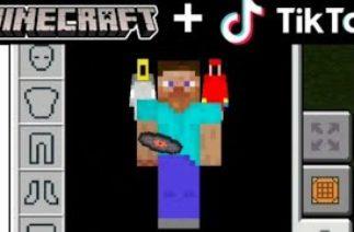TikTok Minecraft Compilation 5!