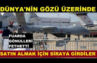 Yabancılar Türkiyenin Gururu savaş uçaklarına hayran kaldı! Satin Almak İçin Siraya Girdiler