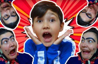 Şaduman Abla Oyun Oynamak İçin Her Yerden Çıkıyor. Komik Çocuk Videosu