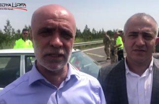 Şanlıurfa'da 1 Mayıs kutlamaları trafik kazası