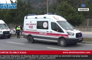 Ölümlü Trafik Kazası – Akşehir