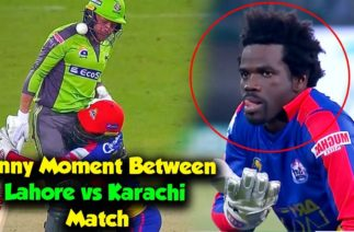 Funny Moment Between Lahore vs Karachi Match | Karachi Kings vs Lahore Qalandars Match 23 | PSL 5