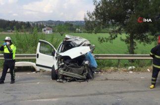 Adana'da Trafik Kazası, Baba İle Oğlu Hayatını Kaybetti