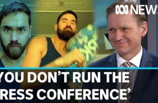 Andrew Probyn's unexpected TikTok moment | ABC News