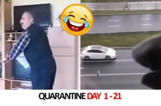 Funny Quarantine Videos Day 1 – 21 🤣🤣🤣