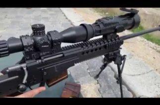 Jandarmaya PARS 675 Tak-Sök Termal Silah Dürbünleri teslim edildi