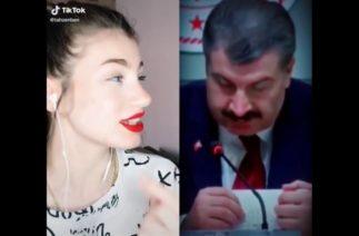 Tiktok Videoları Sağlık Bakanı Fahrettin Koca Bana Yaklaşma