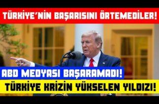 Türkiye'nin Başarısını Örtemediler