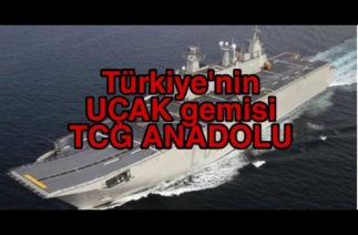 Türkiye'nin UÇAK gemisi TCG Anadolu'da heyecanlandıran gelişme! Test hazırlıkları başladı.
