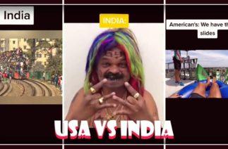USA vs India TikTok Memes Compilation 2020