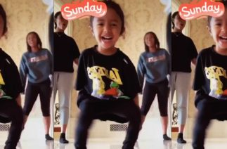Watch Kobe Bryant's Daughter Bianka Crash Big Sister Natalia's TikTok Dance Video
