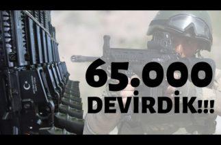 YERLİ VE MİLLİ PİYADE TÜFEKLERİMİZ TAM 65000 ADET../ TÜRK SAVUNMA SANAYİ TAM GAZ DEVAM!!!