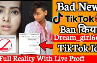 TikTok ने Ban किया Dream Girl666 का TikTok Account – Full Reality With Live Proff