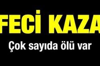 İzmir Buca'da trafik kazası: 7 ölü