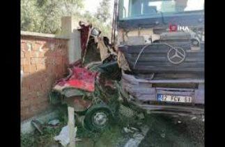 İzmir Kemalpaşa'da trafik kazası