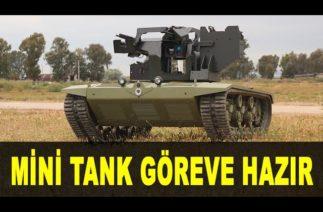 ASELSAN mini tank geliyor