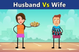 Husband vs wife funny story | Paanipuri | Bollywood Lessons