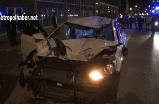 Kayseri trafik kazası 2 metropolhaber net