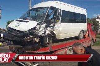 ORDU'DA TRAFİK KAZASI