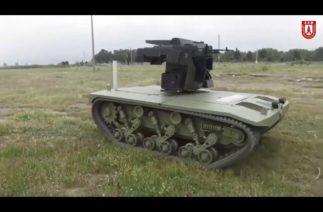 Orta sınıf 2.seviye silahlı insansız kara aracı